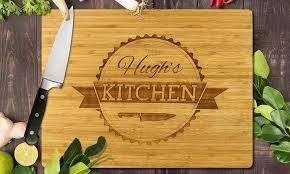 personalised cutting board personalised chopping board groupon goods