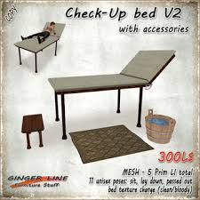 Change Table Accessories Second Marketplace Line Check Up Bed Set V2 Mesh