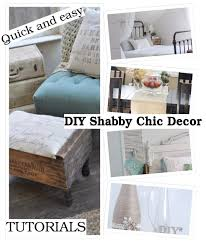 lovely diy shabby chic decor ideas that will save you some money