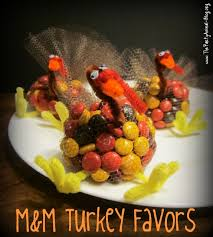 how to make m u0026m turkey favors holiday madness pinterest