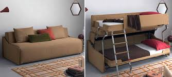 sofa becomes bunk bed this bunk bed sofa out transforms even optimus prime gizmodo australia