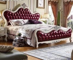 style chambre à coucher style européen solide wod king size chambre à coucher avec deux à
