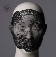 lace mask lace mask black lace veil metamorph couture