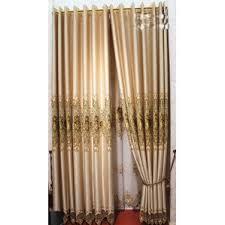 embroidered curtains wayfair