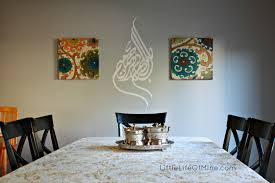 wall decals for dining room review and giveaway simply impressions islamic decals
