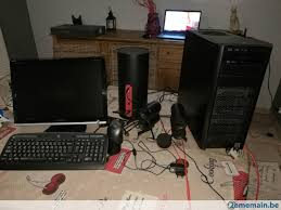 ordinateur bureau gamer ordinateur bureau gamer ou montage a vendre 2ememain be