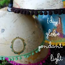 being an interior designer home is what you make it diy globe pendant light 1