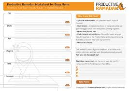 the ultimate ramadan tools review worksheets planners apps and