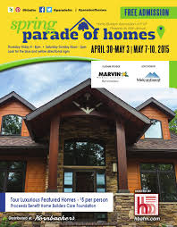 spring parade of homes magazine 2017 by home builders association