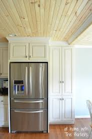 Glazed Kitchen Cabinets At Home With The Barkers - Glazed kitchen cabinets