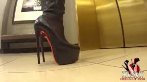 louboutin dafs at the mall youtube