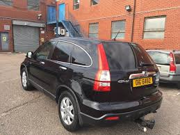 2007 honda cr v diesel good condition with history and mot in
