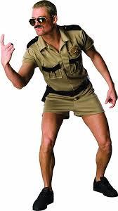 Military Halloween Costumes Women Amazon Reno 911 Dangle Costume Clothing