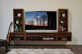 Wall Mount Tv Stand With Shelves by Wall Shelves Design Wall Mounted Entertainment Shelves Center