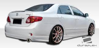 toyota corolla 09 toyota corolla rear bumpers toyota corolla gt sport style rear