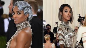Jordan Dunn Silver Hair | ciara jourdan dunn go gray for met gala 2016 pret a reporter