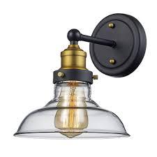 cordelia lighting 1 light artisan bronze wall sconce hannaford 1 light armed sconce lighting pinterest lights and