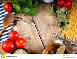food background on wooden board royalty free stock photo image