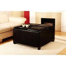 Cocktail Storage Ottoman Cocktail Storage Ottoman With Trays Decoration Storage Ottomans