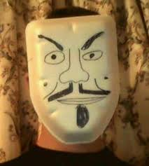Guy Fawkes Mask Meme - anonymous on a budget homemade guy fawkes masks a gallery album