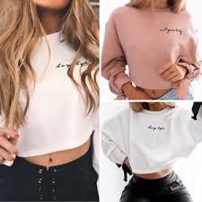 crop top sweater us bowknot sleeve sweater pullover crop tops hoodie