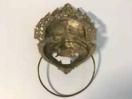 asian dog ring holder images Vintage asian motif brass towel ring holder unique design wall jpg