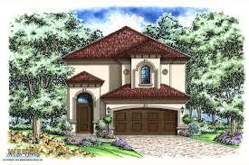 small house plans sqft mediterranean florida narrow lot one story
