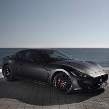 black maserati cars maserati gran turismo matte black repost inspirationalmotors