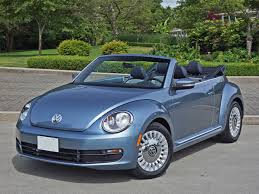 volkswagen beetle blue 2016 volkswagen beetle convertible denim road test review