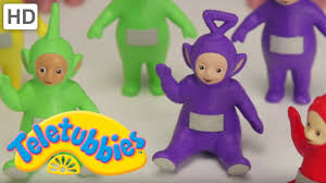 teletubbies toy unboxing play figures special playsets