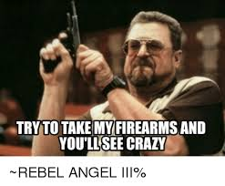 Rebel Meme - tryto takemy firearms and youllsee crazy rebel angel iii crazy