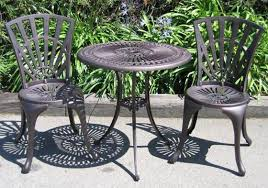 Cast Iron Outdoor Table And Chairs Incredible Cast Iron Patio