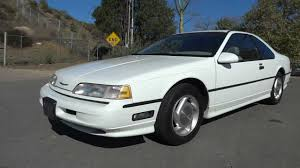 lexus coupe sc300 for sale 1989 ford thunderbird sc super coupe 3 8 supercharged luxury