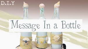 diy message in a bottle easy recycled wine bottle gift diy