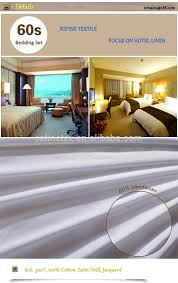 hotel bed linen manufacturer for bed spreads for hotel bed sheet