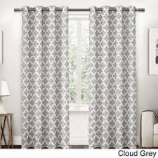 Manhattan Curtains Ati Home Manhattan Grommet Top Curtain Panel Pair By Ati Home