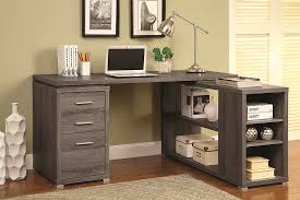 White L Desk by White L Shape Desk With Silver Hardware Co 516 Desks