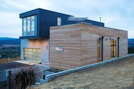 modular homes in a prefab modular home in the hills of sonoma county design milk