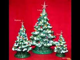 ceramic christmas tree decorating ideas youtube