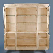 Bookshelf Antique Furniture Accent Bookcase Antique White Bookcase Decorative