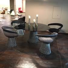replica modern knoll steel wire warren platner chair alibaba