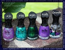 nfu oh nail polishes 282 and 50