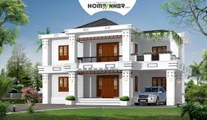 bhk modern box type home design homeinner house plans 25805