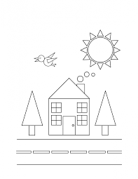 coloring pages charming coloring pages shapes free