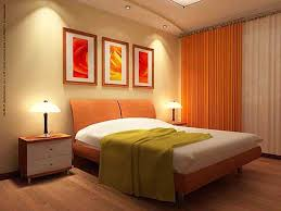 spiffy ceiling to floor orange curtains with romantic drop ceiling