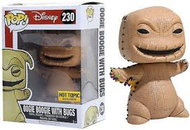 disney nightmare before exclusive oogie boogie with bugs