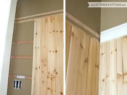 natural wood wainscoting ideas natural grainy wood half wall