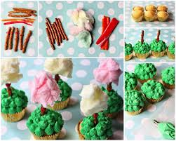 dr seuss cupcakes in the kitchen a taste of truffula trees for dr seuss 109th