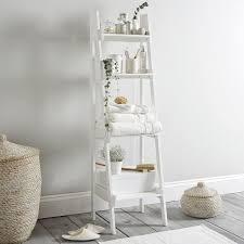 best 25 bathroom ladder shelf ideas on pinterest white laundry