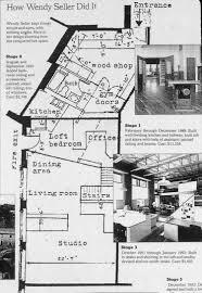 Wendy House Floor Plans Studio Designed Built By The Artist U2014 Wendy Seller